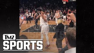Tristan Thompson Flips Off Hecklers At Cavaliers-Nets Game | TMZ Sports