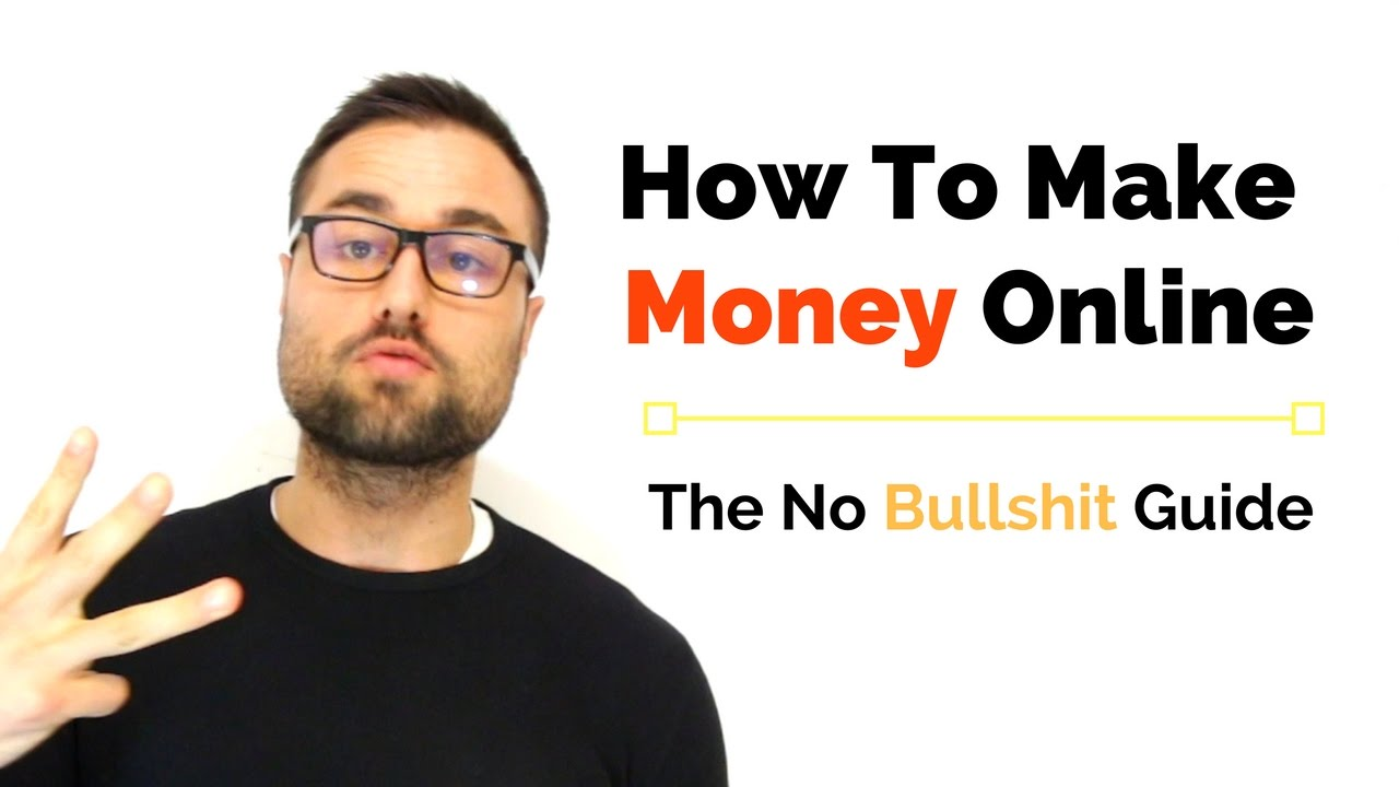 Get Money Quotes How To Make Money Online The No B's Guide  Youtube