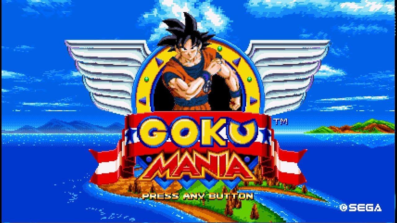 Sonic Mania mods (Goku Mania)