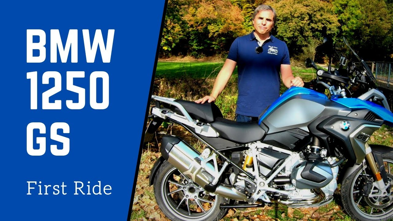 2019 bmw r 1250 gs first ride review en de subs youtube rh youtube com