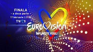 Finala Eurovision Romania 2019 - a doua parte LIVE