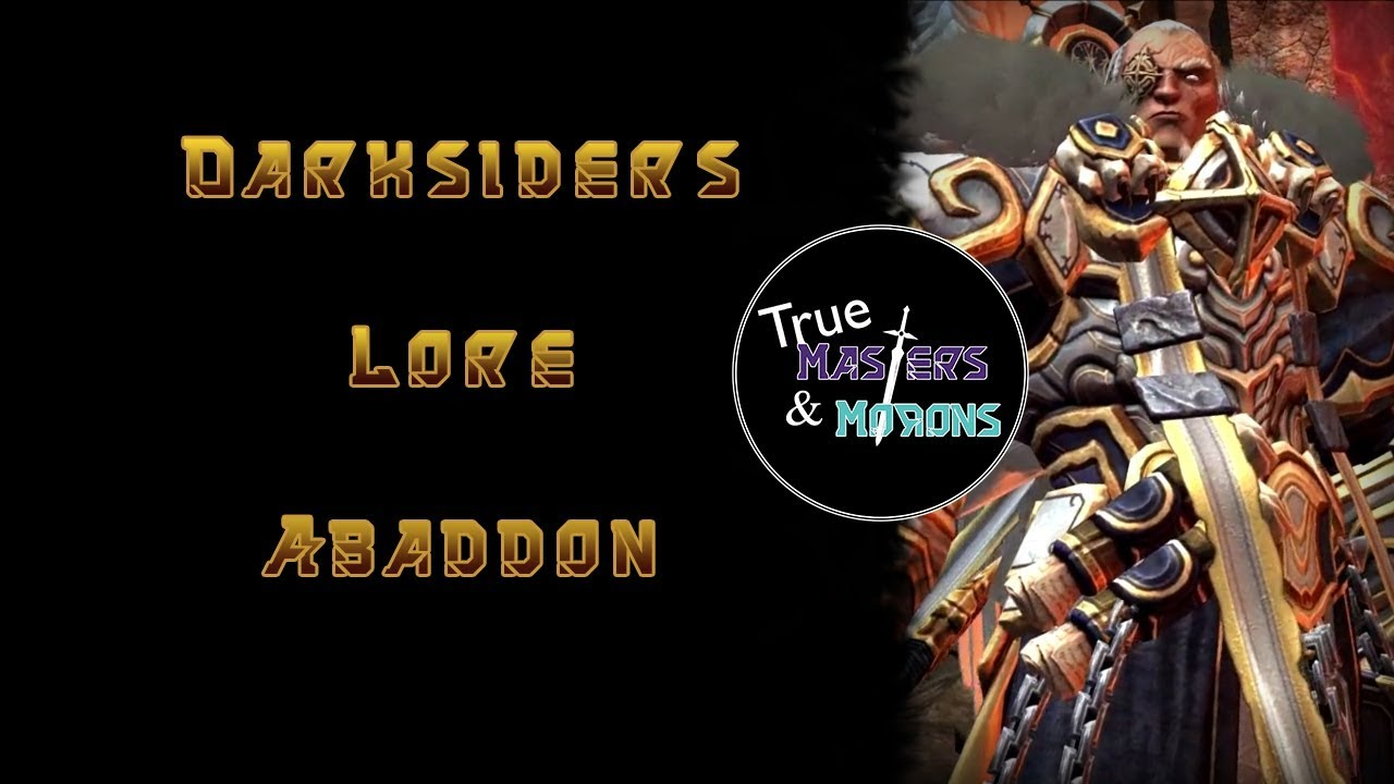 Darksiders Lore: Abaddon the Destroyer - YouTube