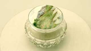 Sterling Silver, Cut Glass and Enamel Dressing Table Jar - Antique George V - AC Silver (W7209)