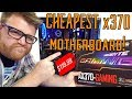 CHEAPEST X370 Board!!?? Gigabyte AX370-Gaming Review