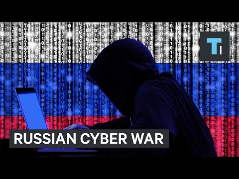 'We already are in a cyber war' with Russia