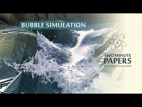 Is a Realistic Water Bubble Simulation Possible?