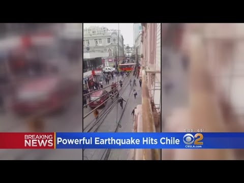 Powerful Earthquake Hits Chile