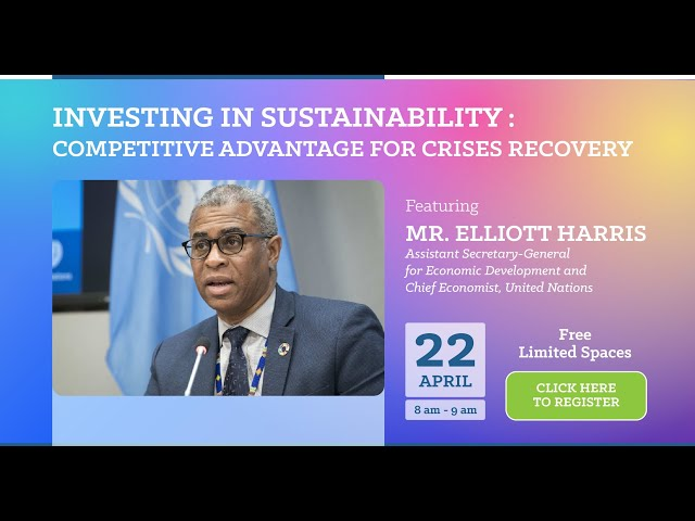 GCMY Webinar featuring UN Assistant Secretary-General and Chief Economist Elliott Harris
