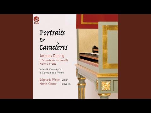 Pièces de clavecin du 3e livre: La De Casaubon Vivement