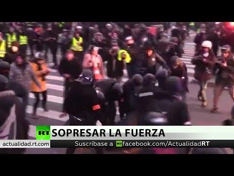 """""""En EE.UU. Y Francia La Fuerza Policiaca Abusa Del Poder"""""""