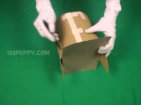 How to make a batman mask youtube