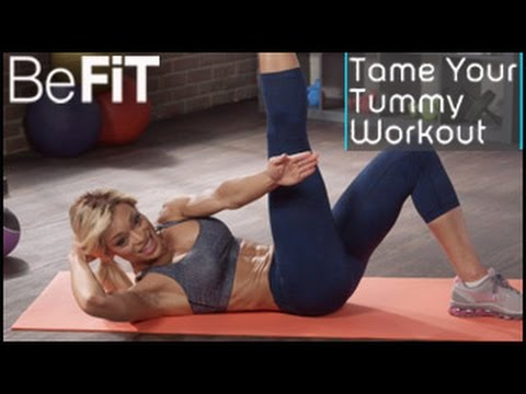 Tame Your Tummy Ab Exercise: Alicia Marie