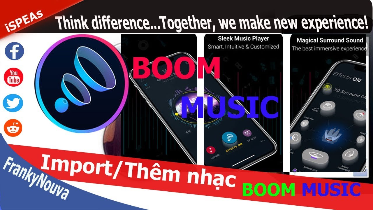 [part 2] Import/Nhập any Mp3 song to Boom Music (no Jailbr3ak) ✅ Franky  Nouva