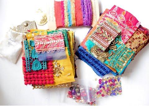 Fabric Textile Embellishment Kit | BIG REVEAL