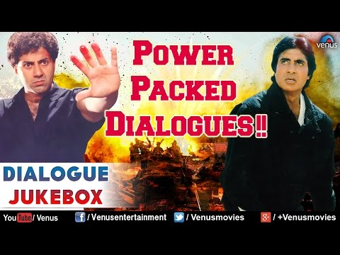 Power Packed Dialogues : Superhit Bollywood Dialogues || Audio Jukebox