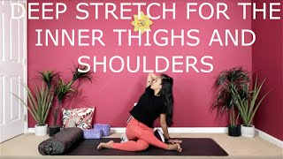 Deep Stretch for the Legs and Shoulders