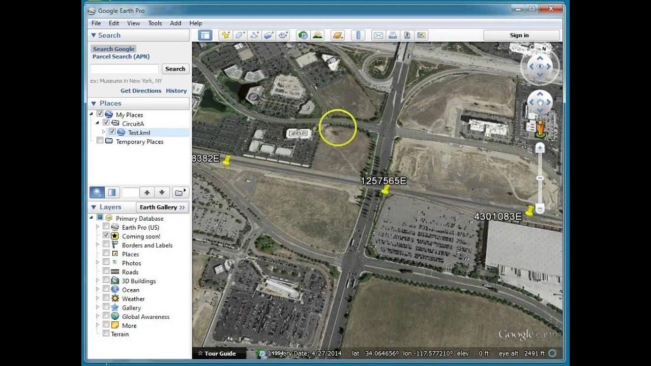 Google Earth Capture Clipboard Feature – O-Calc Pro Wiki