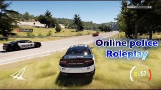 Forza Horizon 2 Online Police Chase [ ROLEPLAY]