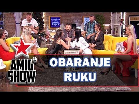 Obaranje ruku – Zadrugarke (Ami G Show S12)