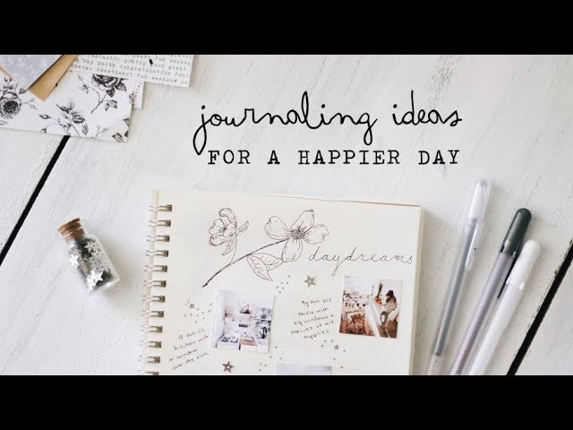 journaling ideas for a happier day