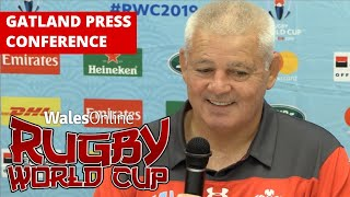 Warren Gatland Wales Rugby press conference in full ahead of Georgia clash