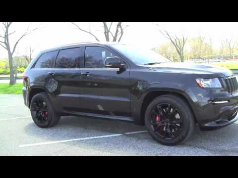 Jeep Grand Cherokee Srt8 0 60 No Mufflers Cai Blackout Youtube