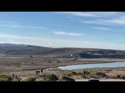 SpaceX Falcon 9 Sentinel-6 Launch and Booster Landing @ Vandenberg AFB, Ca
