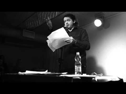 Лёха Никонов отвечает на вопросы зала @ Театръ 24/01/2014