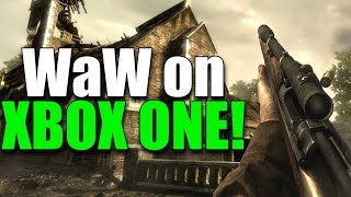 Call of Duty World at War on Xbox One Gameplay! (Backwards Compatible)