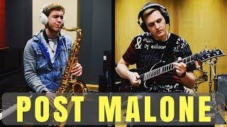 Post Malone - rockstar ft. 21 Savage - Guitar & Sax Remix by Backslash feat. Josh Durke