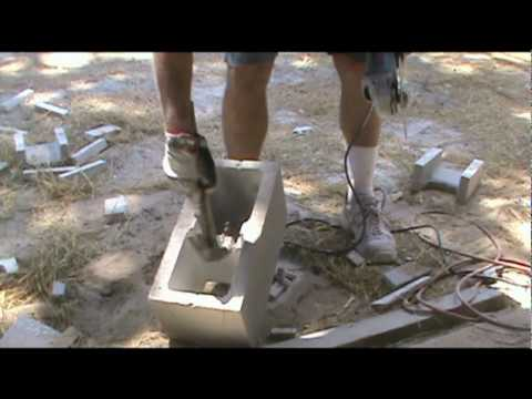 How To Make A Lintel Block Mpg Youtube