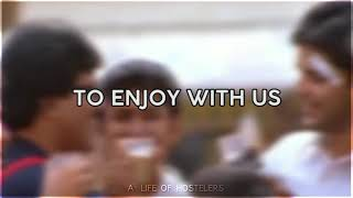 Hosteller /Bachelor life sad status tamil