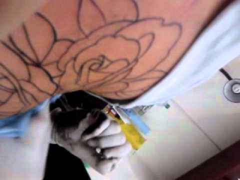 Tatuaje De Rosas En Mi Pecho Youtube