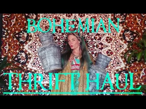 ~THRIFT HAUL~ Boho inspired fashion and interior styling items