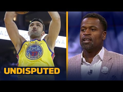 Stephen Jackson on Zaza Pachulia: I definitely would have slapped him | UNDISPUTED