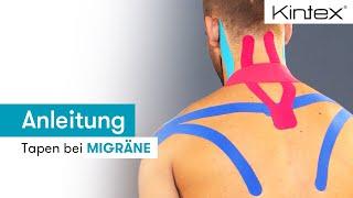 Migräne und Kopfschmerzen (Tapinganleitung + Video)