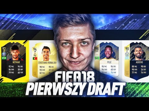 MEGA PACZKI Z PIERWSZEGO DRAFTU FIFA 18!!!!!!