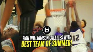 Zion Williamson Put on a Poster?!? NOT TODAY! Faces Christian …