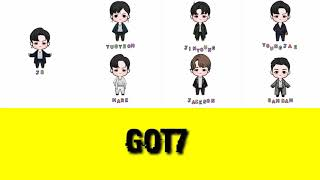 Lirik Lagu// You Calling My Name// GOT7 Doll