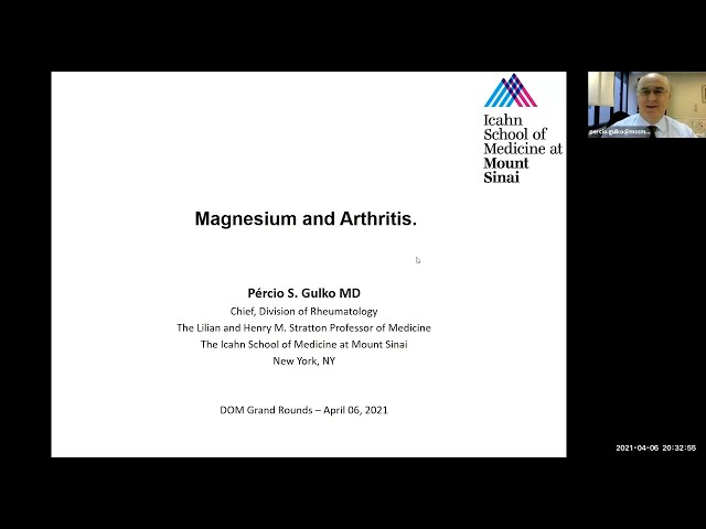 Magensium and Arthritis