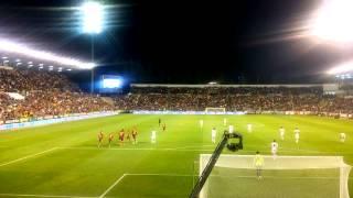 España - Georgia. (2-0, Juan Mata) - Carlos Belmonte, Albacete.