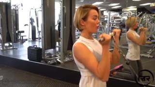 Tone and shape your upper body with Rosie Robinson