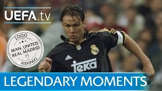See how redondo's sensational skill set up raúl during real madrid's 2000 quarter-final win at manchester united. what are your favourite legendary moments? ...