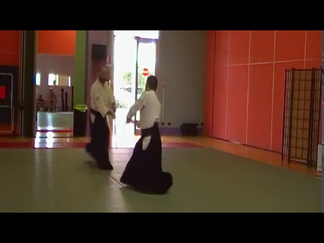 Takemusu Aikido - 31 kumi jo
