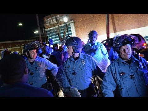 Did Ferguson police lose control of the streets?