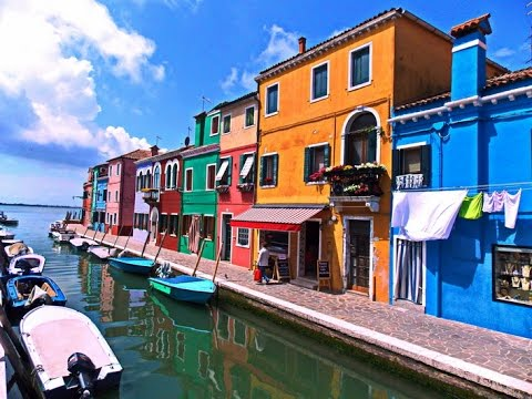 Остров Бурано. Италия