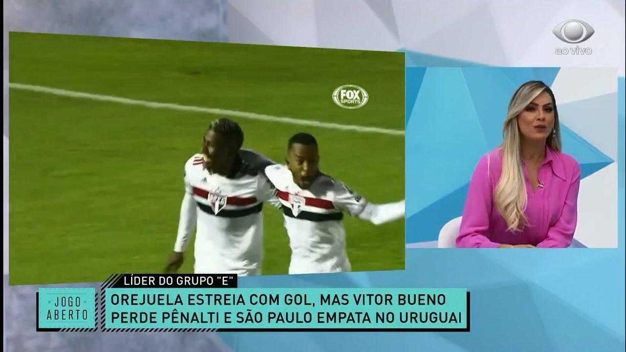 Sao Paulo Fica No Empate Na Libertadores E Esta Perto Das Oitavas Jogo Aberto Youtube