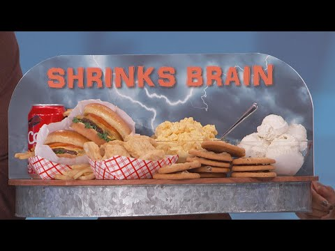 Sugar Shrinks Your Brain?
