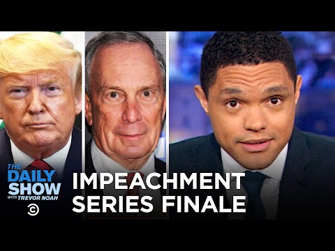 Impeachment Nears Its End, Trump and Hannity Hang & Bloomberg Fights Boxgate | The Daily Show
