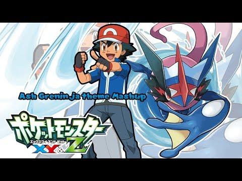Pokemon XYZ: Ash-Greninja Theme [Mashup] (8-bit added)